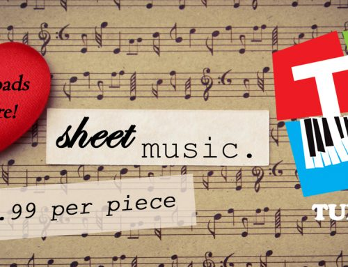 Enhance your Piano Student's Experience with Popular Sheet Music