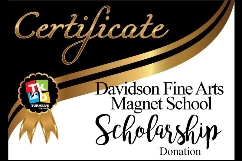 Davidson Fine Arts Scholarship
