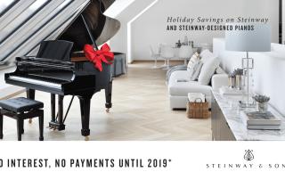 Steinway Holiday Savings Event