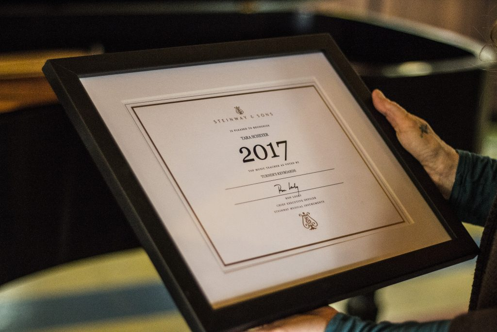 tara scheyer award 2
