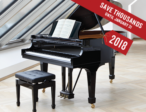 Save Thousands on Steinway until January 31st.