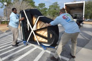 Turner's Delivers 6 Steinways to USCA