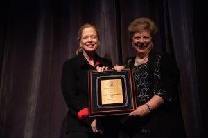 Sally Coveleskie and Sandra - All Steinway plaque