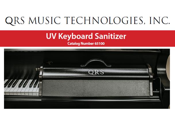 QRS Keyboard Piano Sanitizer