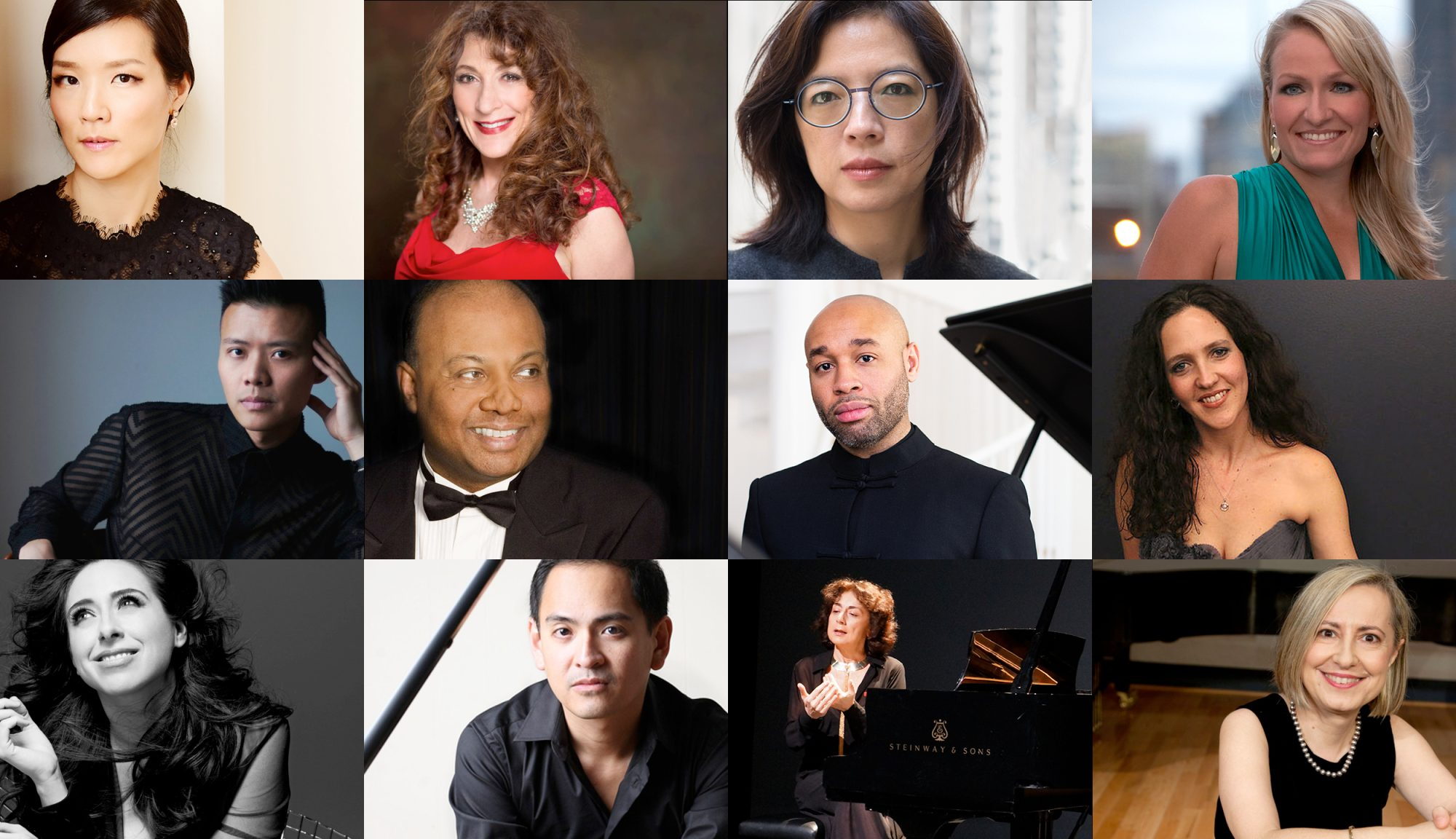 Steinway Virtual Piano Competition Judges