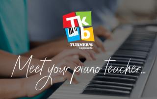 Meet your piano teacher