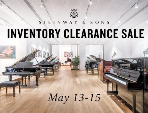 Steinway Clearance